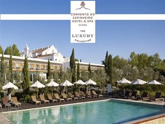Convento do Espinheiro Luxury Collection Hotel & Spa 5*: Estadia de Luxo com Jantar e Prova de Vinhos desde 124.50€. Momento de luxúria em Évora.