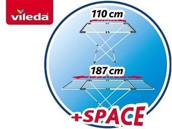 Estendal Extensível Surprise da VILEDA de 110cm a 187cm por 34€. PORTES INCLUIDOS.