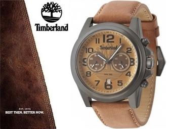 Relógio de Pulso TIMBERLAND Pickett Brown Grey por 85€. O presente ideal para o Homem que gosta da Natureza. PORTES INCLUÍDOS.