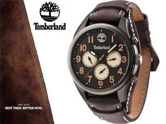 Relógio de Pulso TIMBERLAND Rollins Black Brown por 87€. O presente ideal para o Homem que gosta da Natureza. PORTES INCLUÍDOS.