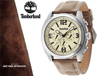 Relógio de Pulso TIMBERLAND BrattleBoro por 82€. O presente ideal para o Homem que gosta da Natureza. PORTES INCLUÍDOS.