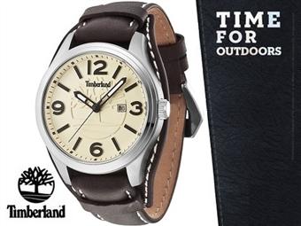 Relógio de Pulso TIMBERLAND Moringa Dark Brown por 68€. O presente ideal para o Homem que gosta da Natureza. PORTES INCLUÍDOS.