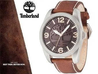 Relógio de Pulso TIMBERLAND Bolton Brown Leather por 68€. O presente ideal para o Homem que gosta da Natureza. PORTES INCLUÍDOS.