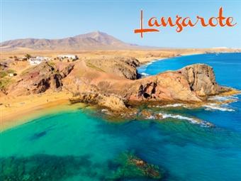 VERÃO EM LANZAROTE: 7 Noites de Alojamento e Voo de Lisboa. Opção com Meia-Pensão ou Tudo Incluído desde 525€. Conheça este Paraíso Vulcânico nas Canárias!