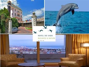 HOTEL DO SADO 4*: Estadia com Pequeno-Almoço e Passeio de Barco pelo Sado em busca dos Golfinhos desde 79€. Momentos Perfeitos em Família.