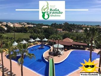 Baía Grande Hotel 4*: 2 Noites em ALBUFEIRA com pequeno-almoço, Tratamento VIP, Jantar, Acesso ao SPA, Transfers desde 99.50€. Tudo isto e muito mais!