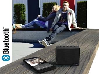 Coluna Bluetooth Portátil Hama com Micro SD e USB. Minúscula mas Poderosa por 21€. PORTES INCLUÍDOS.