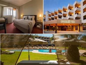 PÁSCOA no Évora Hotel 4*: Estadia de 1 a 3 Noites com Pequeno-Almoço, Welcome Drink, Jantar, Acesso ao SPA e Prova de Vinhos desde 79€. CRIANÇA GRÁTIS.