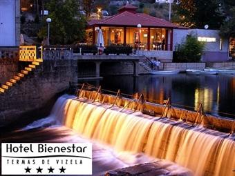 Hotel Bienestar Termas de Vizela 4*: Estadia de 1 ou 2 Noites com Pequeno-Almoço, Jantar & Circuito Hammam Turkish SPA por 40€. Faça uma Pausa!