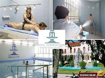 Hotel Termas da Curia 3*: Estadia de 1 a 3 noites em regime de Meia Pensão desde 89€. Faça uma pausa e cuide de si!