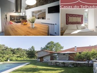 Casas do Telhado: Estadia 2 Noites de Charme com Pequeno-almoço e Jantar perto do Porto por 82.50€. Venha conhecer um local cheio de história!