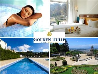 Golden Tulip Braga 4*: Estadia de 1 ou 2 Noites com Pequeno-almoço, Jantar e acesso ao SPA desde 30.50€. Escapada perfeita em qualquer altura!