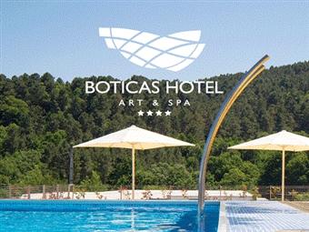 Boticas Hotel Art & Spa 4*: Estadia com Pequeno-Almoço, Welcome Drink, Jantar e Acesso ao SPA por 59€. Fuja da cidade e relaxe ao som da Natureza!