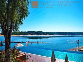 Lago Montargil & Villas 5*: Estadia com pequeno-almoço e entrada no Fluviário de Mora desde 51€. Relaxe junto à barragem e desfrute!