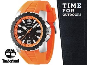 Relógio de Pulso TIMBERLAND Orange Black Dial por 60€. O presente ideal para o Homem que gosta da Natureza. PORTES INCLUÍDOS.