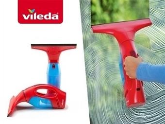 WindoMatic - Aspirador para Vidros da VILEDA. Vidros limpos, sem marcas, sem pingos e sem esforço por 34€. PORTES INCLUIDOS.