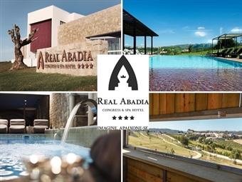 Real Abadia Congress & Spa Hotel 4*: Estadia de Charme de 1 Noite com Pequeno-almoço, SPA, Visita a Adega com Prova de Vinhos por 61€. Um momento a dois!