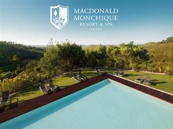 Macdonald Monchique Resort & SPA 5*: Estadia em Suite com Pequeno-almoço, Welcome-Drink, Circuito Termal e actividades à escolha desde 41€.