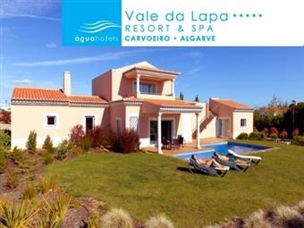 Água Hotel Vale da Lapa 5*: Villa para até 6 Pessoas com Piscina Privativa, SPA e Pequeno-almoço desde 189€. Super Primavera e Verão no Algarve!
