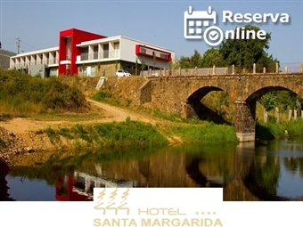 Hotel Santa Margarida 4*: 1 ou 2 Noites com Jantar & SPA junto à Ribeira de Oleiros desde 27.50€. Perfeito para escapada em família. RESERVA ONLINE