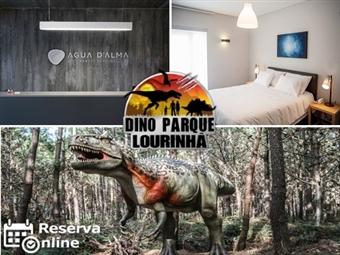 DINOPARQUE & Hotel Água D'Alma: 1 ou 2 Noites junto à Lagoa de Óbidos com Entrada no Parque desde 39.50€. Um museu ao ar livre! RESERVA ONLINE.