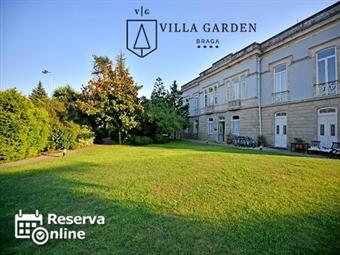 Villa Garden Braga 4*: 1 ou 2 Noites com opção Jantar. Visite a Cidade Milenar num edifício do século XIX cheio de charme desde 29.50€. RESERVA ONLINE