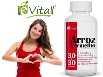 ARROZ VERMELHO da e-Vitall: 60 Cápsulas para 60 Dias desde 10.50€. Contribui para o nível normal de COLESTROL no sangue. ENVIO IMEDIATO e PORTES INCLUÍDOS.