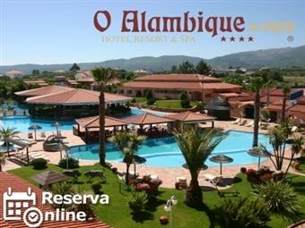 Alambique de Ouro Hotel Resort & SPA 4*: Escapada de 1 ou 2 Noites na Serra da Estrela com Pequeno-almoço e Acesso à Piscina desde 29€.