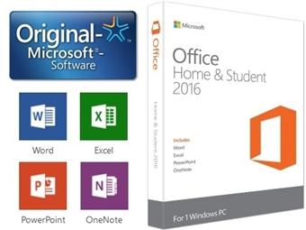 Microsoft Office Home & Student com Word, Excel, PowerPoint e OneNote por 74€. ENVIO INCLUÍDO.
