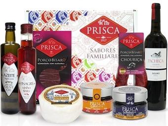 Mala Portugalidade PALADARES com Vinho Tinto da CASA DA PRISCA desde 23€. Composta por 8 deliciosos produtos! PORTES INCLUÍDOS.
