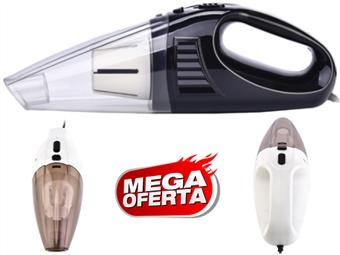 MEGA OFERTA: Aspirador Portátil com ligação para o isqueiro do carro e acessórios de limpeza por 16€. PORTES INCLUIDOS.