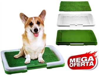 MEGA OFERTA: WC para Cães com Tapete de Relva Sintética por 15€. PORTES INCLUIDOS.