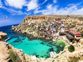 MALTA: 7 Noites com Voos de Lisboa, Hotel 3* ou 4*, Regime à Escolha e Transferes desde 522€. Venha conhecer uma ilha com Praia, Natureza e muita História.