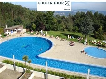 Golden Tulip Braga 4*: Estadia de 1 com Pequeno-almoço, Jantar e acesso ao SPA desde 33€. Escapada perfeita em qualquer altura!