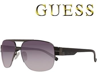 Óculos de Sol GUESS GUF0126 BLK-35 com estojo da marca e proteção contra raios ultravioleta por 41€. PORTES INCLUÍDOS.