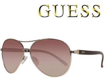Óculos de Sol GUESS GUF235 GLD-34A com estojo da marca e proteção contra raios ultravioleta por 41€. PORTES INCLUÍDOS.
