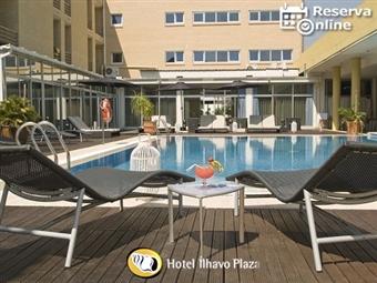 Hotel de Ílhavo Plaza 4*: 1 Noite com Pequeno-almoço, Jantar, SPA e Massagem desde 35.50€. Relaxe com esta oferta. RESERVA ONLINE.