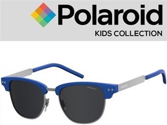 Óculos de Sol POLAROID CRIANÇA PLD 8023/S RCT47M9 com estojo da marca e proteção contra raios ultravioleta por 18€. PORTES INCLUÍDOS.