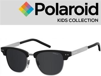 Óculos de Sol POLAROID CRIANÇA PLD 8023/S 00347M9 com estojo da marca e proteção contra raios ultravioleta por 18€. PORTES INCLUÍDOS.