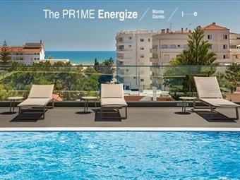 The Prime Energize Hotel 4*: Estadia de 1 ou mais Noites em Monte Gordo com Pequeno-almoço desde 30.50€.