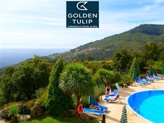 Golden Tulip Caramulo Hotel & SPA 4*: 1 noite ou mais com Pequeno-Almoço, Jantar e Acesso a SPA desde 28€. Escolha a melhor altura e relaxe!