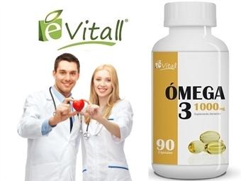 Ómega 3 da e-Vitall: Frasco de 90 Cápsulas para 90 Dias desde 10.50€. Ideal para manter o corpo e mente saudáveis. ENVIO IMEDIATO e PORTES INCLUÍDOS.