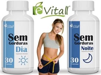 Sem Gorduras (Dia e Noite) da e-Vitall para 30 Dias desde 13€. Queima Gorduras Total. ENVIO IMEDIATO e PORTES INCLUÍDOS.