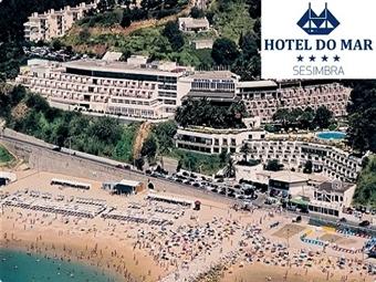 HOTEL do MAR 4* em Sesimbra com Vista Mar, Piscinas, Centro Fitness, Sauna, Estacionamento e Opções Gastronómicas desde 30€.