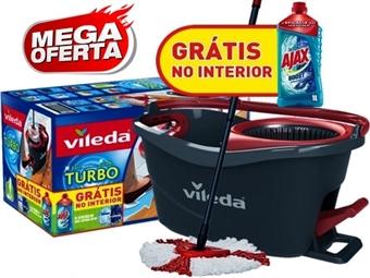 MEGA OFERTA: VILEDA Easy Wring & Clean Turbo + AJAX Lava Tudo Boost por 33€. ENVIO IMEDIATO e PORTES INCLUIDOS.