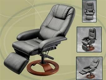 Cadeira Giratória 360º Deluxe com Massagens por Vibração, Inclinação, Aquecimento Lombar e Comando por 216€. PORTES INCLUIDOS.