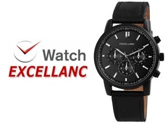 Relógio de Pulso e Pulseiras Excellanc 2900073-003 por 19€. Elegância Intemporal. PORTES INCLUÍDOS.
