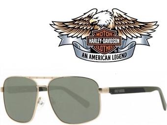 Óculos de Sol HARLEY DAVIDSON HDX868 GLD- 60 com estojo da marca e proteção contra raios ultravioleta por 25€. PORTES INCLUÍDOS.
