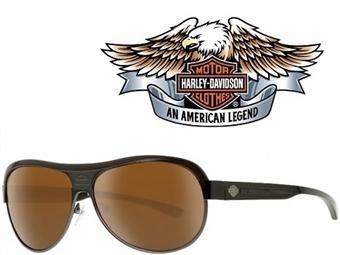 Óculos de Sol HARLEY DAVIDSON HDX864 GUN-1 com estojo da marca e proteção contra raios ultravioleta por 24€. PORTES INCLUÍDOS.