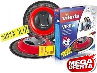 MEGA OFERTA: Mopa Robô ViRoBi Super Slim da Vileda que limpa a casa sozinho sem fios por 33€. PORTES INCLUIDOS.